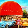 The Orange Julep Montreal by Carole Spandau
