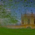 Fairytale Castle On A Meadow. by Alexander Vinogradov