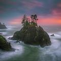 The Oregon Coast Sunset by William Freebilly photography