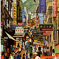 The Orient Is Hong Kong - B O A C  C. 1965 by Daniel Hagerman