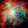 The Orion Nebula Close Up II by Ricky Barnard