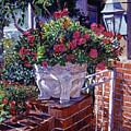 The Ornamental Floral Gate by David Lloyd Glover