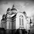 The Orthodox Cathedral And The Saint John The Baptist Church by Erika H