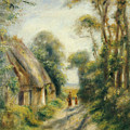 The Outskirts Of Berneval  by Pierre Auguste Renoir