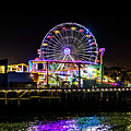 The Pacific Wheel And Reflections by Gene Parks