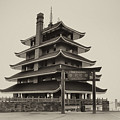 The Pagoda - Reading Pa. by Bill Cannon