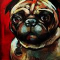 The Painted Pug by Kristin Lozoya