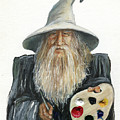 The Painting Wizard by J W Baker