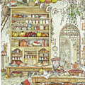 The Palace Kitchen by Brambly Hedge