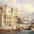The Palaces Of Venice by Samuel Prout