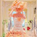 The Palazzo Casino Venetian Rose Dress by Aloha Art