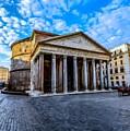 The Pantheon Rome by David Dehner