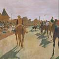 The Parade by Edgar Degas