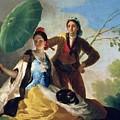 The Parasol by Goya