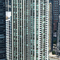 The Parkshore Condominiums Building Chicago Aerial by David Oppenheimer