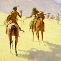 The Parley by Frederic Sackrider Remington