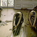 The Parquet Planers - Gustave Caillebotte by Gustave Caillebotte