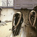 The Parquet Planers by Gustave Caillebotte