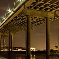 A Great Passageway Arthur Ravenel Jr Bridge Charleston South Carolina by Reid Callaway