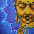 The Peaceful Buddha by Joyce Hayes