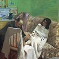 The Pedicure by Edgar Degas