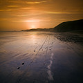 The Pembrokeshire Sunset by Angel Ciesniarska