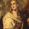 The Penitent Magdalene 1578 by El Greco