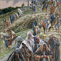 The People Beholding The Things That Were Done Smote Their Breasts by Tissot