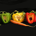 The Pepper Trio by Carol Milisen