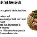 The Perfect Baked Potato by Michael Ledray