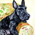 The Perfect Guest - Scottish Terrier by Lyn Cook