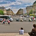 The Perfect View- Avenue De L'opera Paris  by Scott Hippensteel