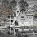 The Peterson Mill In Saugatuck Michigan by Randall Nyhof
