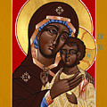 The Petrovskya Icon Of The Mother Of God 128 by William Hart McNichols