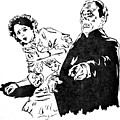 The Phantom Of The Opera by Bryan Bustard