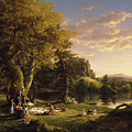 The Pic-nic by Thomas Cole