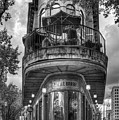 The Pickle Barrel 3 B W Flatiron Architecture Chattanooga Tennessee Art by Reid Callaway