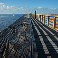 The Pier At Bayshore Live Oak Park - Port Charlotte, Florida by Mitch Spence