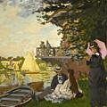 The Pier by Claude Monet