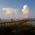 The Pier On Anna Maria Island by David Lee Thompson