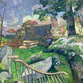 The Pig Keeper by Paul Gauguin