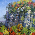 The Pilot - Pilot Mountain by L Diane Johnson