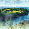 The Pine And Beach Links by Don Kuing