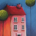 The Pink House by Lucia Stewart
