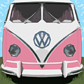 The Pink Love Bus by Bruce Stanfield