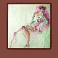 The Pink Man  by Clarissa Talve