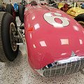The Pink Zink 1955 Indy 500 Winner by Steve Gass
