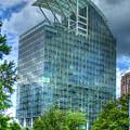 The Pinnacle Reflections Office Buildings Buckhead Atlanta Art by Reid Callaway