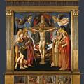The Pistoia Santa Trinita Altarpiece by PixBreak Art