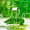 The Playground I - Ocean County Park by Angie Tirado